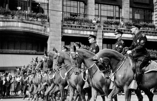 1938 Mounted Unit