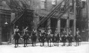 Mounted Unit 1918