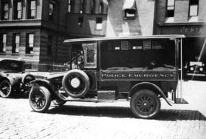 1915 White Motors Police Emergency Patrol Wagon