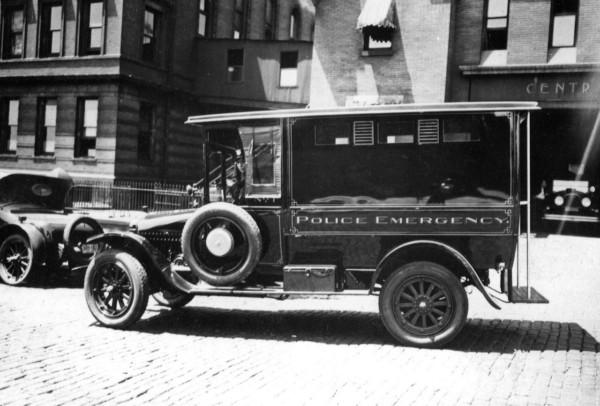 1915 White Motors Police Emergency Patrol Wagon