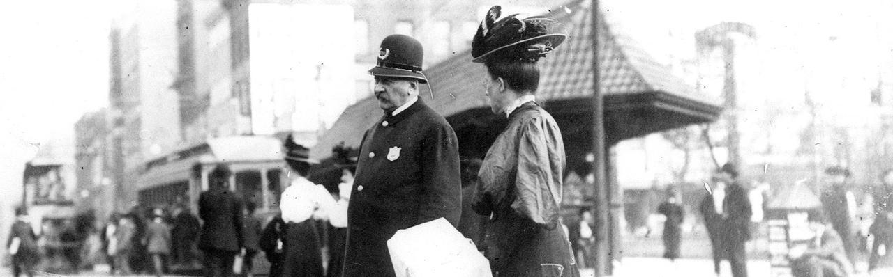 Policeman circa 1900