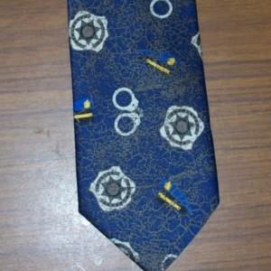 Police Motif Necktie