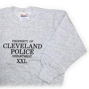 Children's Property of Cleveland Police Sweatshirt