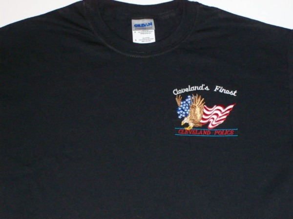 Cleveland's Finest T-shirt (embroidered)