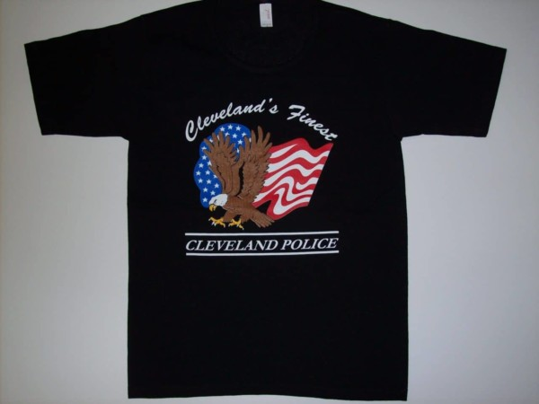 Ladies scoop neck Cleveland's Finest T-shirt