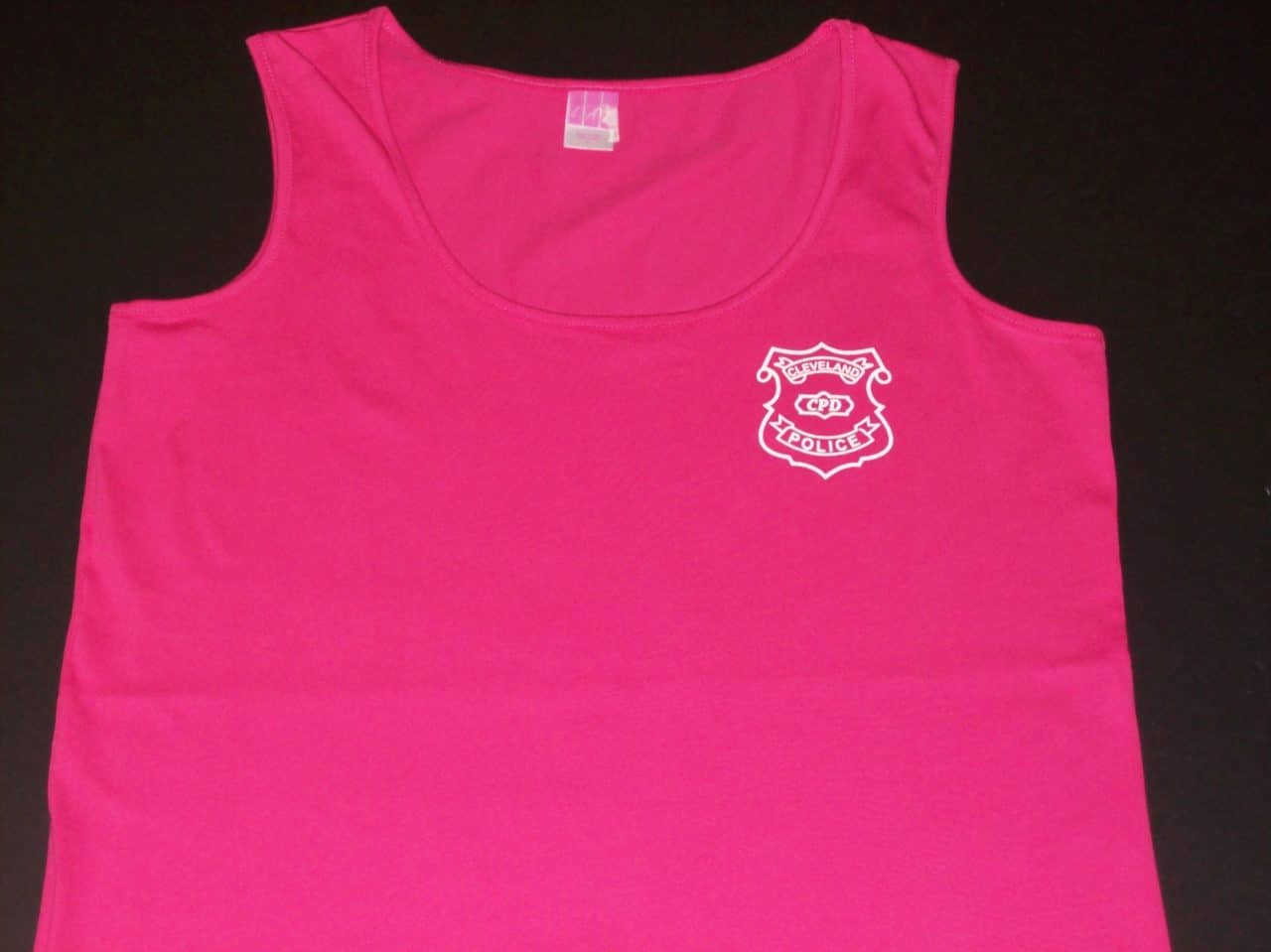 Ladies Tank Top with Badge