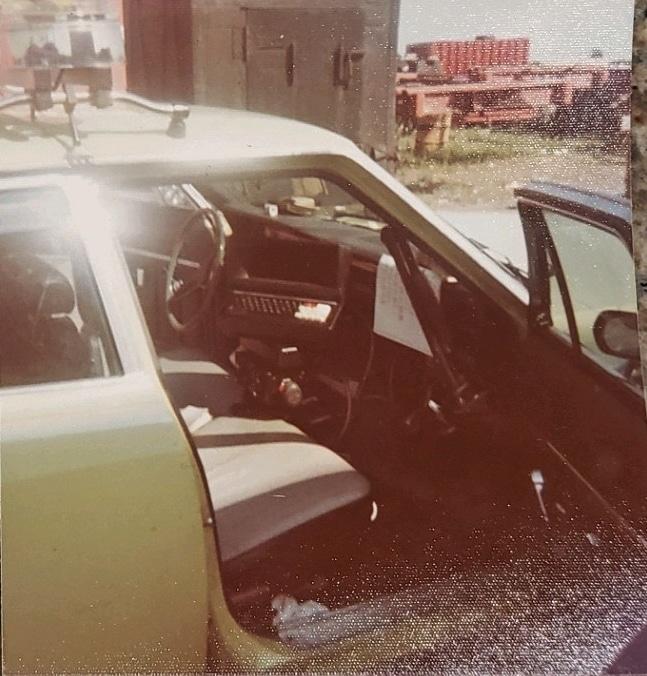 1973 AMC Ambassador Patrol Car - Cleveland Police Museum