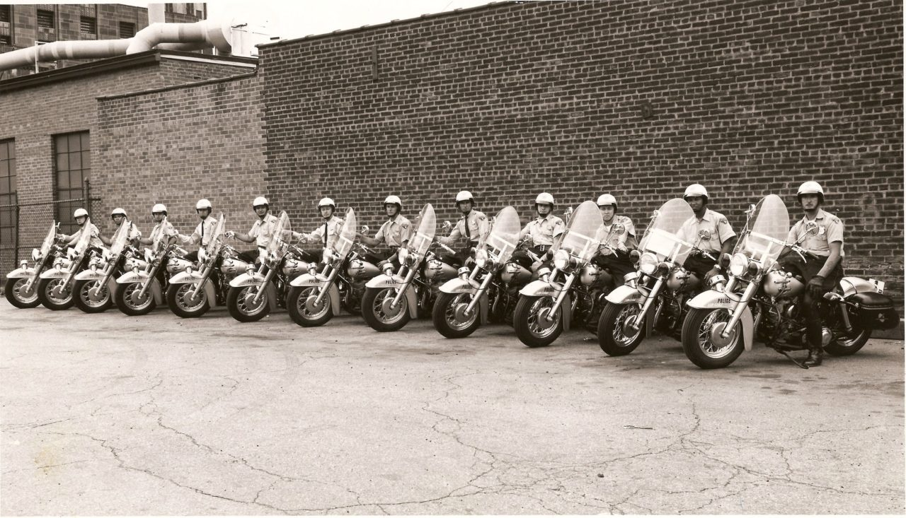 Motorcycles at the Cleveland Police Museum - Cleveland
